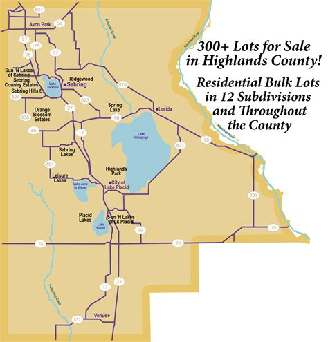 Highlands County Property Tax Records Highlands County Residential Lots Saunders Real Estate