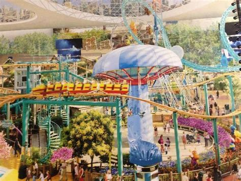 theme park miami photo gallery mega mall offers promise of jobs fears of
