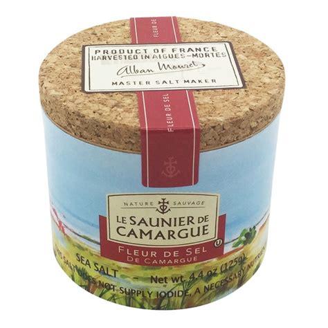 whole foods salt l le saunier de camargue fleur de sel de camargue sea salt