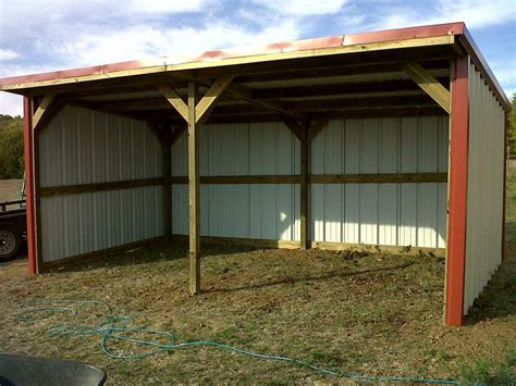 loafing shed loafing shed tractor shed ideas