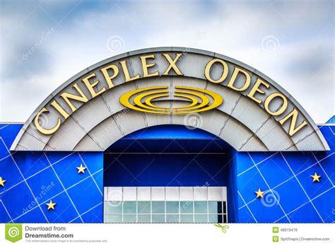cineplex windsor cineplex odeon editorial photo image 48519476
