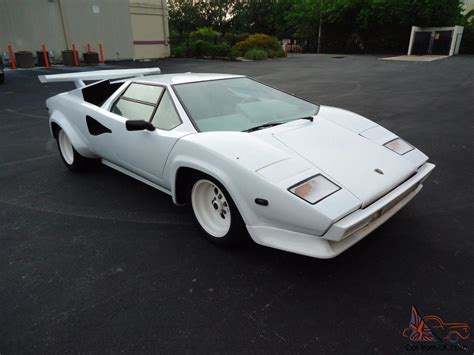 Lamborghini Countach 5000s For Sale Lamborghini Countach 5000s All Chassis V 8 Replica
