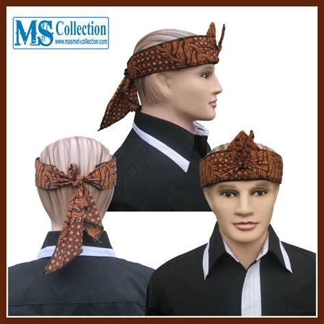Iket Sunda Praktis Mahkota Wangsa Ms0307e jual iket sunda praktis mahkota wangsa ms0304a harga