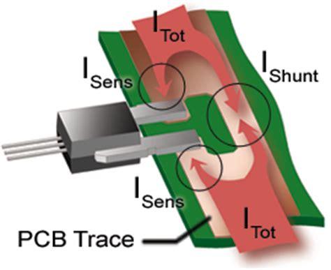 pcb trace current sense resistor allegro microsystems using allegro current sensor ics in current divider configurations for