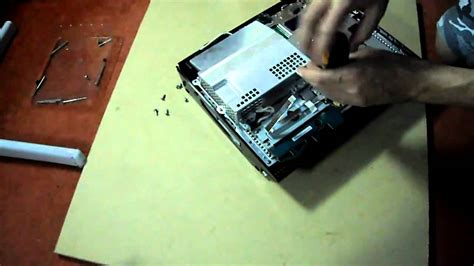 how to fix yellow light of ps3 ps3 60gb yellow light of fix part 5 wmv