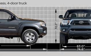 Length Of Toyota Tacoma Toyota Tacoma Dimensions 2017 Ototrends Net