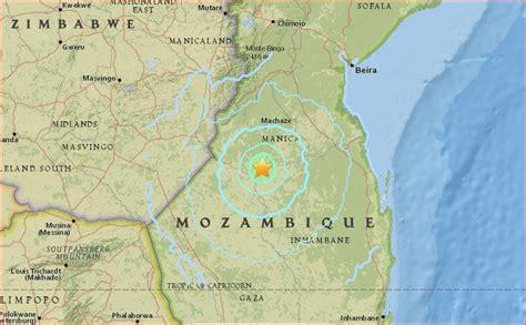 earthquake zimbabwe strongest earthquake in 11 years hits mozambique africa