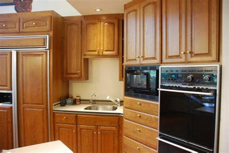refinish oak cabinets house furniture
