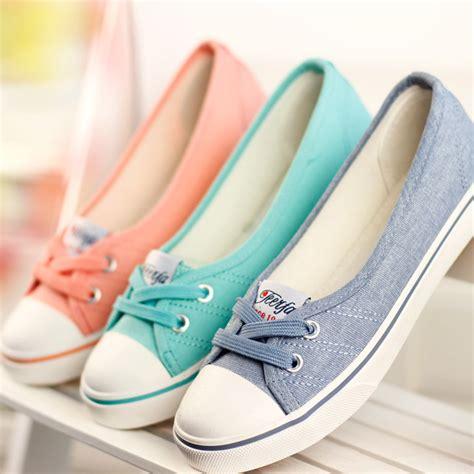 Sepatu Balet Canvas aliexpress buy shoes ballet flats loafers