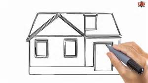 easy houses to draw how to draw a house easy drawing step by step tutorials