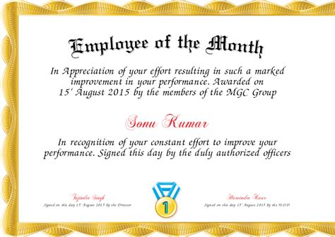 employee of the month powerpoint template free employee of the month template cominyu info
