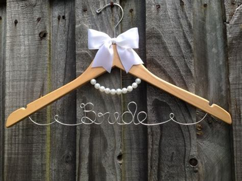 decoration hangers pearl hanger with bow decoration personalised