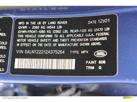 2002 freelander color code 608 for monte carlo blue photo 54287192 gtcarlot