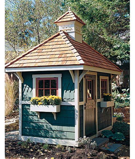 Garden Shed Windows Designs Summer House Garden Sheds Backyard Retreats The Inspired Room