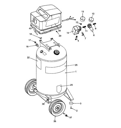 sears craftsman 919 166441 air compressor parts