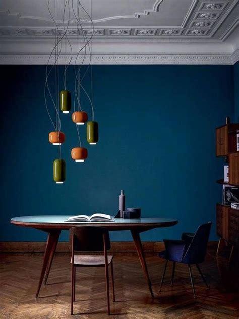 trend  loving deep blues dark wood rooms varying