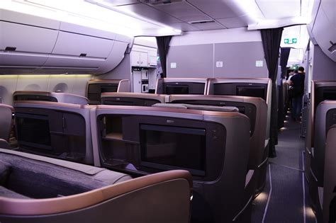 a350 cabin review singapore airlines a350 business class singapore