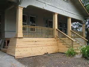 Cheap Porch Columns The Frugalista Files Help Me Brainstorm Porch Skirting