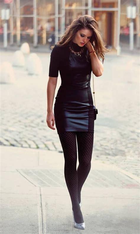Mini Leather Dress how to wear mini dresses 2018 fashiontasty