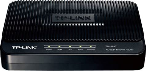 Modem Router Tp Link Td 8817 tp link td 8817 adsl2 ethernet usb wired with modem router tp link flipkart
