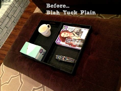 wrap around ottoman tray we re all muggles wrap around ottoman tray one of my