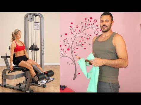 leg extension a casa gambe toniche a casa esercizio simula la leg