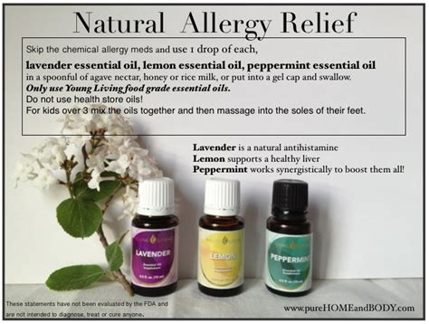 essential oils for allergies allergy relief and essential oils home and llc