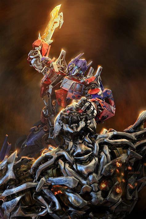 Mobil Transformer Universe Warrior transformers megatron vs optimus prime transformers