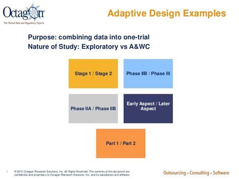 adaptive layout exles adaptive clinical trials