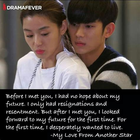 film drama korea my love from another star 89 best kdrama quotes images on pinterest drama korea
