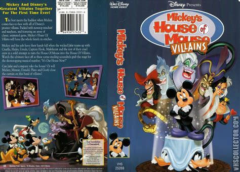 mickey house of villains mickey s house of villains vhscollector com your analog videotape archive
