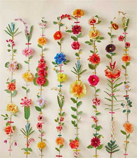 How To Make Hanging Paper Flowers - best 25 hanging paper flowers ideas only on