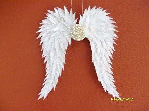 Handmade Wings - handmade paper heaven handmade white