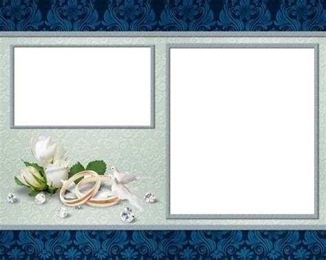 wedding photo templates wedding psd backgrounds photoshop free