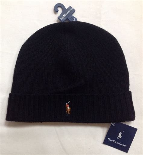 One Glass Polos s polo ralph merino wool cuff hat beanie
