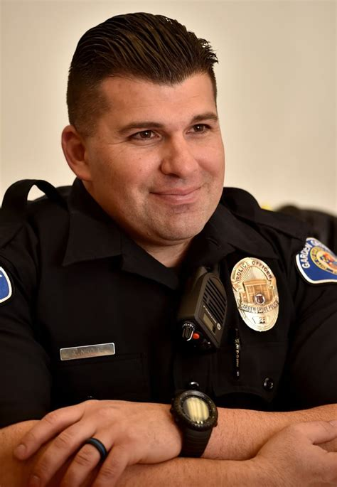 Lateral Officer by The Badge Garden Grove Pd Experiences A Growth