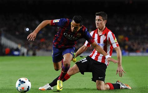alexis sanchez dribbling barcelona 2 1 athletic bilbao bouncing back from the losses