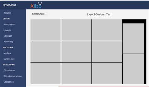 template layout xibo display empty region support xibo community