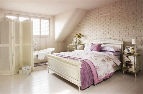modern shabby chic bedroom interior decorating ideas with
