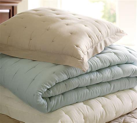 pottery barn white comforter married in chicago bedroom color scheme porcelain blue