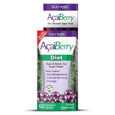 Natrol Acai Berry natrol acai berry diet 60 capsules health and in