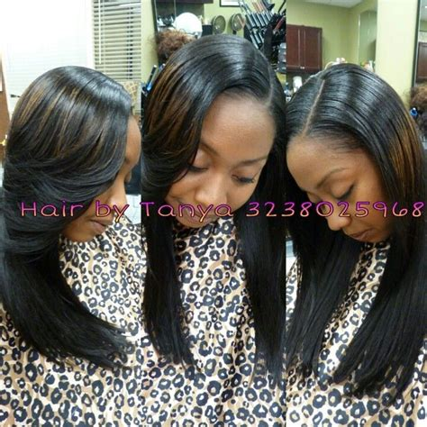 partial weave styles partial sew in weave photos hairstylegalleries com