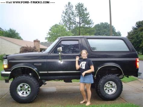 bronco car 1996 1996 ford bronco 4x4 little big truck