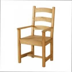 chaise bois chaise en bois avec accoudoir conforama
