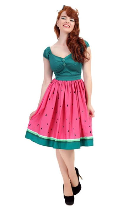 how to make a swing skirt collectif jasmine watermelon swing skirt sivletto
