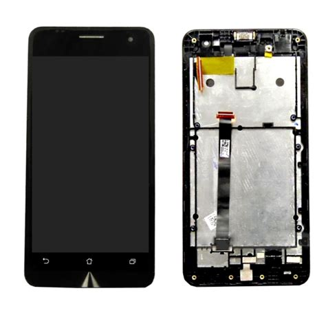 Lcd Zenfone 5 lcd screen touch screen digitizer assembly with frame for asus zenfone 5 black alex nld