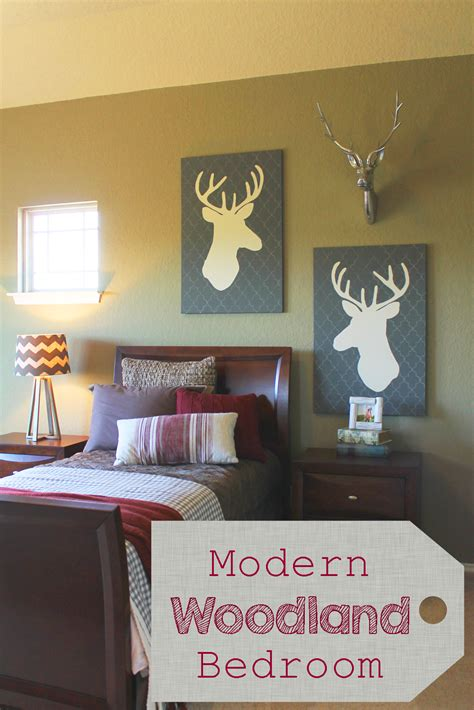woodland bedroom theme the ragged wren modern woodland bedroom