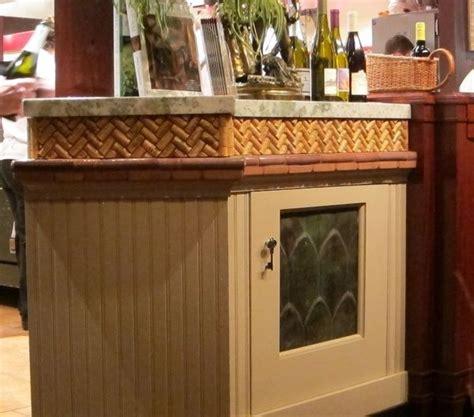 wine cork backsplash pattern for wine cork backsplash