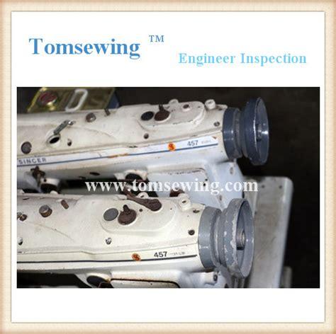 zigzag industrial sewing machine singer 457g1