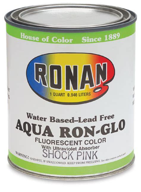 ronan aquacote fluorescent bulletin enamels blick materials